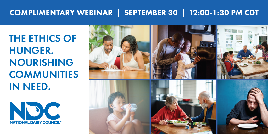 Free Recorded webinar: The ethics of hunger. Nourishing communities in need.