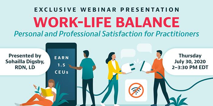 webinar on work life balance