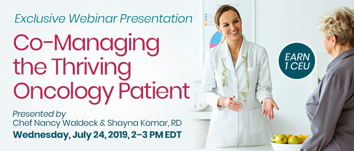 Co-Managing the Thriving Oncology Patient