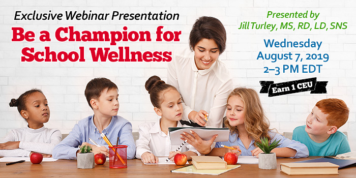 Be a Champion For School Wellness