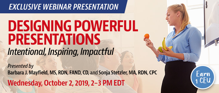 Designing Powerful Presentations Webinar