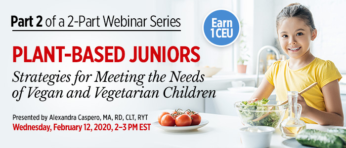 Webinar: Strategies for Plant-Based Juniors
