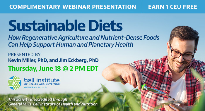 Webinar About Sustainable Diets