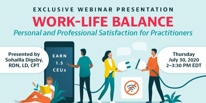 Webinar on work-life balance