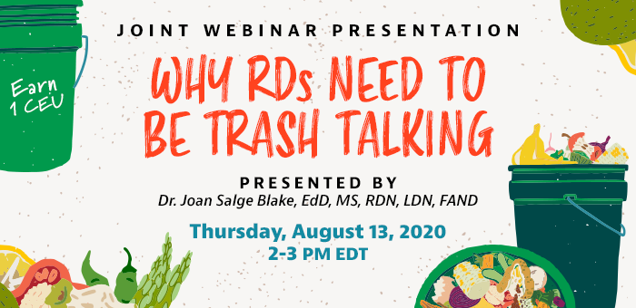Why RDs Need to Be Trash Talking Webinar