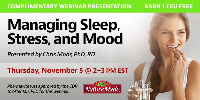 Managing Sleep, Stress, and Mood