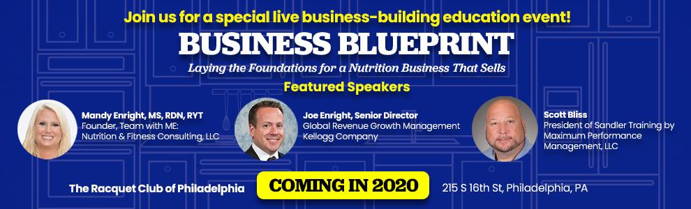 Business Blueprint One Day Learning Event coming in 2020!