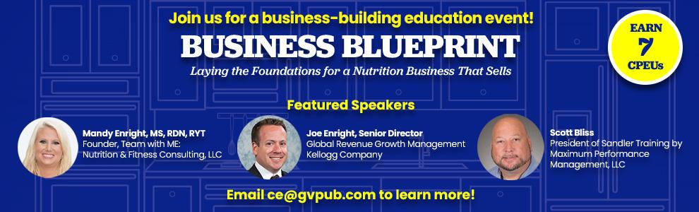 special business building event - email ce@gvpub.com