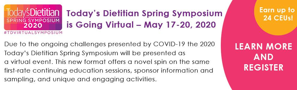 Spring Symposium has gone virtual!
